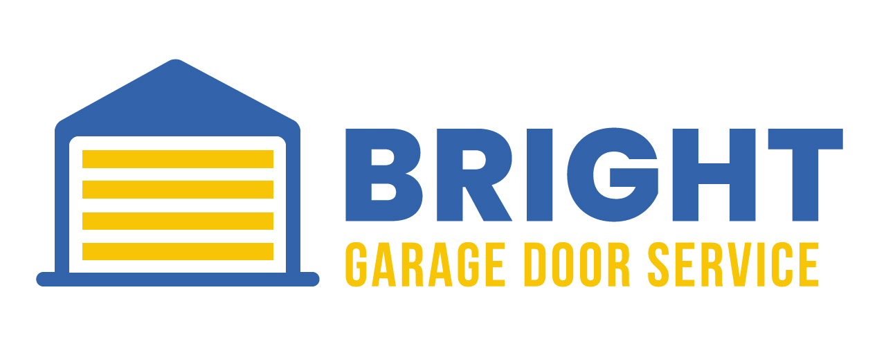 Bright Garage Door Service Logo